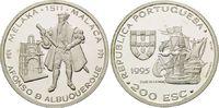 200 Escudos 1995, Portugal, Zeitalter der portugiesischen Entdeckungen ... 26,00 EUR kostenloser Versand
