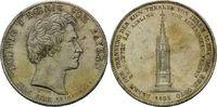 Geschichtstaler 1835, Bayern, Ludwig I., 1825-1848, kl.Kratzer, st  720,00 EUR kostenloser Versand