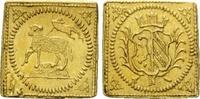 1/4 Dukat Klippe o.J. (1700) Nürnberg, Stadt, vz  425,00 EUR kostenloser Versand