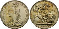 Crown 1890 Großbritannien, Victoria, 1837-1901, vz/st  150,00 EUR kostenloser Versand