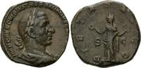 AE Sesterz, Rom  Röm. Reich, Trebonianus Gallus, 251-253, ss  190,00 EUR