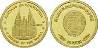 10 Won 2010 Korea, Kathedrale von Santiago de Compostela, PP  54,00 EUR  zzgl. 6,40 EUR Versand