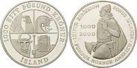 1000 Kronen 2000 Island, 1000.Jahrestag der Entdeckungsreisen von Leif ... 84,00 EUR  zzgl. 6,40 EUR Versand