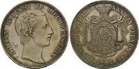 Vereinstaler 1862 Liechtenstein, Johann II...