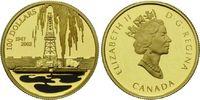 100 Dollars 2002, Kanada, Ölfund in Ludoc, PP, Zertifikat, Etui  375,00 EUR365,00 EUR kostenloser Versand