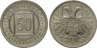 50 Groschen 1934, Österreich, Nachtschilling, vz-st  49,00 EUR  zzgl. 6,40 EUR Versand
