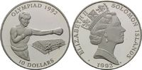 10 Dollars 1992 Salomonen, Olympische Spiele in Barcelona 1992 - Boxen,... 27,00 EUR25,00 EUR