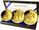 70000 Dinar 1985, Jugoslawien, Türkenkriege, PP, Zertifikat, Etui  1385,00 EUR kostenloser Versand