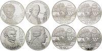 Medaillen zu 25 Ecu 1995-1998, Österreich, Komponisten, 4 Stk., Zertifi... 115,00 EUR  zzgl. 6,40 EUR Versand