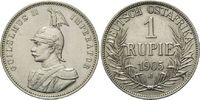 1 Rupie 1905 J Deutsch Ostafrika, Wilhelm II., 1888-1918, f.vz  100,00 EUR  zzgl. 6,40 EUR Versand