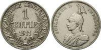 1 Rupie 1911 J Deutsch Ostafrika, Wilhelm II., 1888-1918, f.vz  95,00 EUR  zzgl. 6,40 EUR Versand