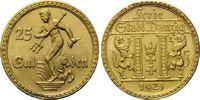 25 Gulden 1923 Danzig, Freie Stadt, vz