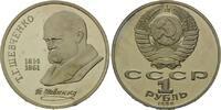 Rubel 1989, Russland, 175. Geburtstag von T.Schevchenko, PP  10,00 EUR  zzgl. 6,40 EUR Versand