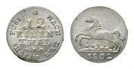 Hannover, 1/12 Taler 1802 GFM, Georg III., 1760-1820,