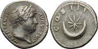 AR Denar 125-128 Röm. Reich, Hadrian, 117-138, ss  89,00 EUR kostenloser Versand