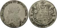 Taler 1783 Bistum Eichstätt, Johann Anton III. von Zehmen, 1781-1790, s... 285,00 EUR kostenloser Versand