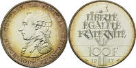 100 Francs 1987 Frankreich, La Fayette, st  30,00 EUR  zzgl. 6,40 EUR Versand