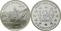 100 Francs 1997 Frankreich, Famous Monuments of Europe - Wenzelsmauer, ... 35,00 EUR  zzgl. 6,40 EUR Versand