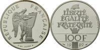 100 Francs 1989 Frankreich, Genius, PP, Etui, Zertifikat  35,00 EUR  zzgl. 6,40 EUR Versand