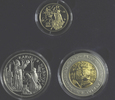 55 Diners (3 Münzen) 1996 Andorra, Europa - Karl der Große, PP, Etui, Z... 325,00 EUR  zzgl. 9,40 EUR Versand