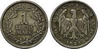 1 Mark 1926 J Weimarer Republik, Kleinmünze, ss-vz  135,00 EUR  zzgl. 6,40 EUR Versand