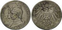 2 Mark 1901 Preussen, 200 Jahre Königreich, s-ss  12,00 EUR  zzgl. 6,40 EUR Versand