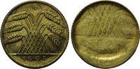 10 Pfennig 1925 G Weimarer Republik, Fehlprägung, vz  95,00 EUR  zzgl. 6,40 EUR Versand