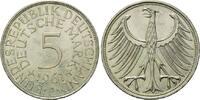 5 Mark 1961 J BRD, Silberadler - Kursmünze, vz-st  195,00 EUR  zzgl. 6,40 EUR Versand