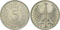 5 Mark 1963 J BRD, Silberadler - Kursmünze, vz-st  50,00 EUR  zzgl. 6,40 EUR Versand
