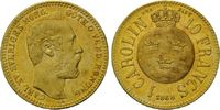 Carolin - 10 Francs 1868, Schweden, Karl XV., 1859-1872, vz+  545,00 EUR530,00 EUR kostenloser Versand
