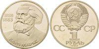 1 Rubel 1983, Russland, 100. Todestag von Karl Marx PP  6,00 EUR  zzgl. 6,40 EUR Versand