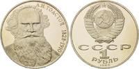 1 Rubel 1988, Russland, 160. Geburtstag von Lev Tolstoj, PP  6,00 EUR  zzgl. 6,40 EUR Versand