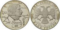 2 Rubel 1994, Russland, 185. Geburtstag von Nikolaj Gogol', Schriftstel... 9,50 EUR  zzgl. 6,40 EUR Versand