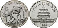 10 Yuan 1990 China, Panda, st  69,00 EUR  zzgl. 6,40 EUR Versand