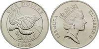 Dollar 1986 Bermuda, Schildkröte, st  22,00 EUR  zzgl. 6,40 EUR Versand