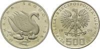 500 und 1000 Zlotych 1984 Polen, Schwan, 2 Stk., l.ber.PP und PP  170,00 EUR  zzgl. 6,40 EUR Versand