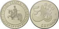 5 Ecu 1990 Spanien, Alphonso X von Kastilien, Etui, Zertifikat, PL  25,00 EUR  zzgl. 6,40 EUR Versand