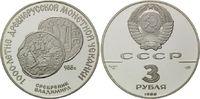 3 Rubel 1988, Russland, Silbermünze aus der Zeit von Großfürst Vladimir... 39,00 EUR  zzgl. 6,40 EUR Versand