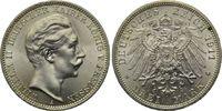 3 Mark 1911, Preussen, Wilhelm II., 1888-1918, st fein  63,00 EUR  zzgl. 6,40 EUR Versand