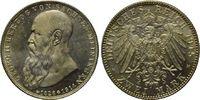 2 Mark 1915, Sachsen-Meiningen, Georg II., 1866-1914, st, Erstabschlag,  270,00 EUR  zzgl. 9,40 EUR Versand