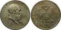 5 Mark 1901, Sachsen-Meiningen, Georg II., 1866-1914, vz/st  699,00 EUR  zzgl. 9,40 EUR Versand