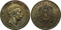 5 Mark 1888, Preußen, Wilhelm II., 1888-1918, ss/vz  790,00 EUR  zzgl. 9,40 EUR Versand
