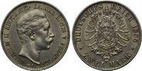 2 Mark 1888, Preußen, Wilhelm II., 1888-1918, vz/st  499,00 EUR  zzgl. 9,40 EUR Versand