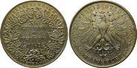 Doppeltaler 1842, Stadt Frankfurt  vz  399,00 EUR  zzgl. 9,40 EUR Versand