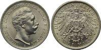 2 Mark 1906, Preußen, Wilhelm II., 1888-1918, st  85,00 EUR  zzgl. 6,40 EUR Versand