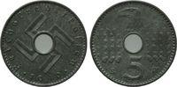 5 Reichspfennig 1940 Drittes Reich, Reichskreditkassen, vz/st  100,00 EUR  zzgl. 6,40 EUR Versand