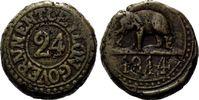 1/24 Rixdollar 1814 Sri Lanka / Ceylon, Georg III. von Grossbritannien,... 55,00 EUR  zzgl. 6,40 EUR Versand