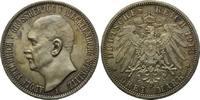 3 Mark 1913 A, Mecklenburg-Strelitz Adolf Friedrich V., 1904-1914, f.st  1820,00 EUR kostenloser Versand