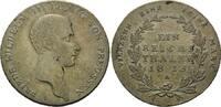 Taler 1815 A, Preussen, Friedrich Wilhelm III., 1797-1840, vz/st  345,00 EUR  zzgl. 9,40 EUR Versand