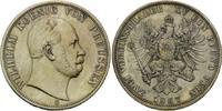 Doppeltaler 1867, Preussen, Wilhelm I., 1861-1888, vz/st  1099,00 EUR  zzgl. 9,40 EUR Versand